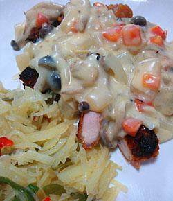 「鶏のクリームソース」作り方とレシピ