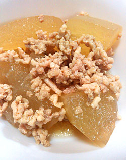 「冬瓜と鶏のカマスだし煮」作り方とレシピ