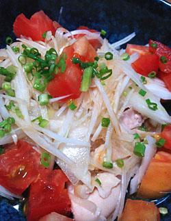 「茹で鶏の土佐たたき風」作り方とレシピ